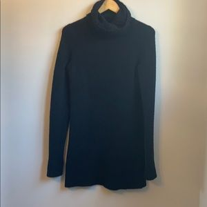 Theory wool and cashmere sweater dress
